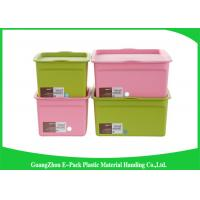 Customized Hard Clear Plastic Storage Box with Logo Eco - Friendly Manufactures