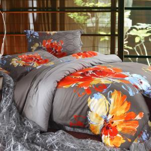 Different Designs Home Bedding Comforter Sets , Full Size Bed Comforter Sets Manufactures