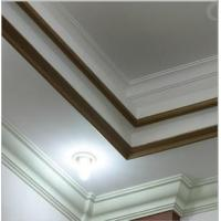 Quality PU plain panel moulding line as belt line on building for interior and exterior use for sale