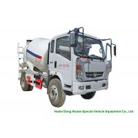 China HOMAN 4x2 Mobile Concrete Mixer Truck For Transport With 4m3 Load Capacity on sale