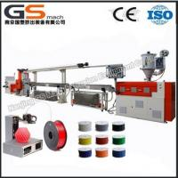 high quality plastic filament extruding machine Manufactures