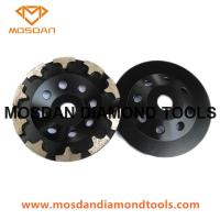China T Seg Diamond Grinding Wheel for Concrete Marble Edging on sale