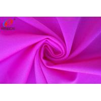 Red Colour Polyamide / Nylon Spandex Fabric For Yoga Leggings Manufactures