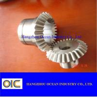 Spur spiral bevel Gears and pinions , ring worm helical special gear Manufactures