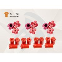 Customized Foundation Drilling Tools Tapered Button Bits High Efficient Manufactures
