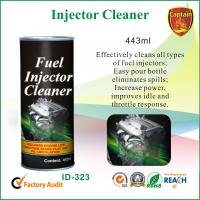 China 443ml car cleaning chemicals , cap and seal fuel injector cleaner on sale