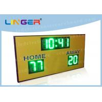 Regular Function LED Electronic Scoreboard For University 900mm*1500mm*90mm Manufactures