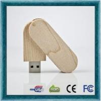 Wooden Swivel USB Flash Drive Igh High-Speed Manufactures