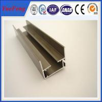supply aluminum channel extrusion anodized, 6063 aluminum extrusion profiles for stair Manufactures