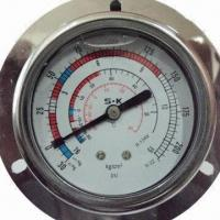 Refrigerant Pressure Gauges, Available in Various Dial Sizes Manufactures