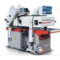 Professional Double Sided Wood Planer , High Efficient Automatic Wood Planer Manufactures