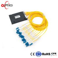 Buy cheap Different Wavelengths Fiber CWDM Mux Demux 16 Channels In ABS Module from wholesalers