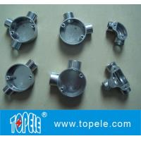 TOPELE BS Two Way Through Circular Malleable Aluminum Junction Box, Galvanized Electrical Conduit Fittings Manufactures