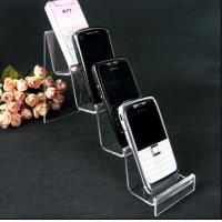 4 Layer Fashion Design Clear Acrylic Mobile Phone Display Stand Manufactures