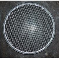 304 Round Stainless Steel Filter Screen , Filter Discs , Edge Treated Manufactures