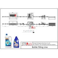 PLC Control Laundry Detergent Filling Machine Line With High Production Efficiency Manufactures