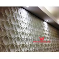 3D Wood Wall Panels 3D Textured Wall Panels WY-385 Manufactures