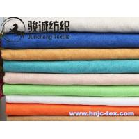 Soft handle suede fabric/ Micro suede for woman dress and other apparels Manufactures
