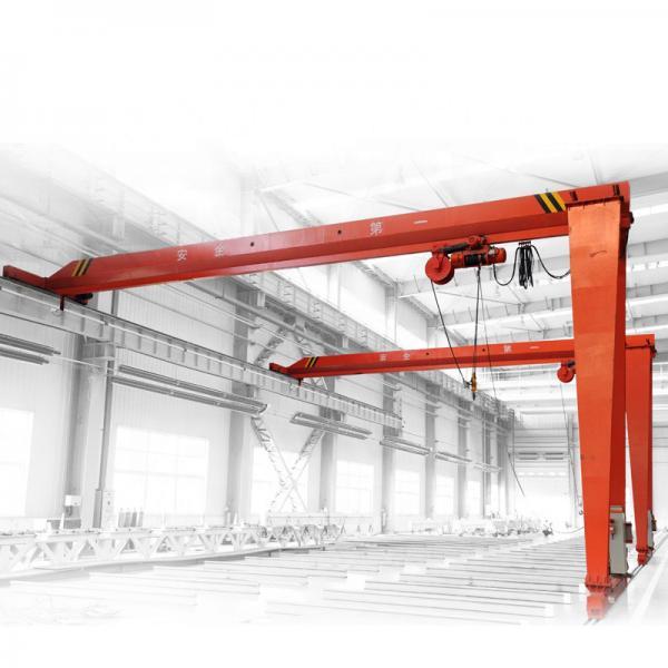 Quality 5T 10T Electric Bridge Hydraulic Gantry Crane Warehouse Steel Making for sale