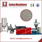granulated polyethylene plastic granulators waste plastic recycling machine Manufactures