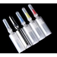 5ml Unique Syringe Shaped Plastic Airless Bottle For Eye Cream Packaging Manufactures