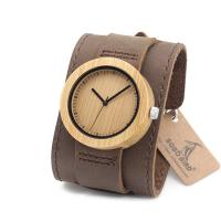 Customized wooden watch faces with your own OEM logo Manufactures