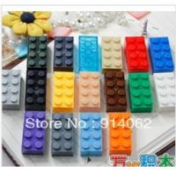 2013 toys parts DIY blocks bricks plastic building blocks for kids/children 200pcs/lot color assorted Manufactures