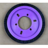 Natural Hog Hair Kniting Machine Brush Hardness OD 172MM ID 77MM Manufactures