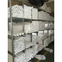Industrial Extruded PTFE Teflon Rod Close Tolerance Low Water Adsorption Manufactures