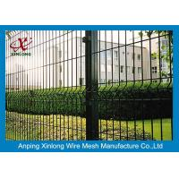 Europe Style Wire Netting Fence / Vinyl Coated Wire Mesh For Highway Manufactures