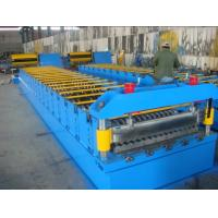 Corrugated Steel Metal Roll Forming Machine with Speeds Up to 30 m / min Manufactures