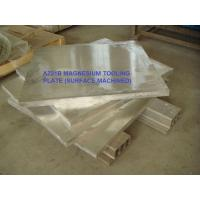 AM60 Hot rolled Magnesium tooling plate AZ91D magnesium tooling plate AZ31 TP magnesium tooling plate ASTM B90/B90M-07 Manufactures