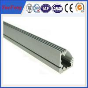 6000 series extruded aluminium profile for led strip / aluminum profile for led light bar Manufactures
