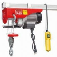110V Electric Hoist with 560W Input Power and 550lbs Maximum Capacity Manufactures