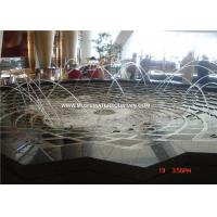 Modern Art Jumping Laminar Jet Fountain With Led For Decorative Manufactures