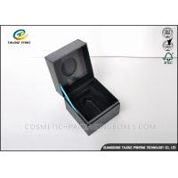 China High End Unique Jewelry Gift Boxes Recyclable Paperboard Materials For Ring / Watch on sale