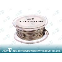 Quality Titanium wire ASTM B863 Titanium Alloy Wire for medical and glasses for sale