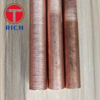 China Round Copper Coated Alloy Steel Pipe Heat Exchanger Iow Finned Tube from TORICH on sale