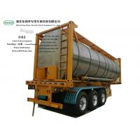 China Heating Insulated 30FT Tank Container Stanless Steel For Liquid Phosphoric Acid WhatsApp+8615271357675 on sale