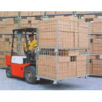 Collapsible Wire Storage Cages 300kg To 1500kg Loading Capacity Manufactures