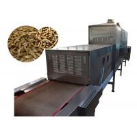 High Production Efficiency Microwave Vacuum Drying Equipment 120KW For Fly Larvae Manufactures