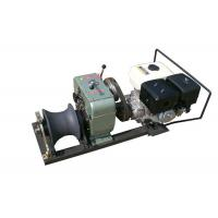 Stringing Wire Powered High Speed Winch Cylindrical Shape Steel Rope Coming Manufactures