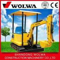 360 degree rotate kids mini electric excavator with music coin operated kids ride excavator Manufactures