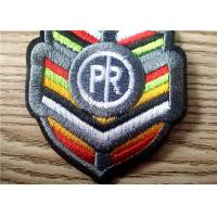 Durable Colorful Embroidered Patches Of Brand Logo For Garment Manufactures