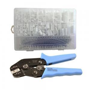 China 900pcs JST-XH 2.54mm Connectors Assortment Kit Crimping Tool Crimper Plier Set on sale