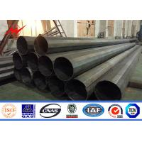 90ft Philippines NGCP standard electric galvanized pole steel pole for sale