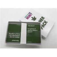 Classic Party Games What Do You Meme Card Game Packaged With Delicate Color Box Manufactures