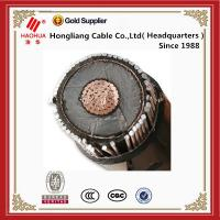 China MV Cable 8.7/15(17.5) kV 70mm2 xlpe power cable Cu/XLPE/CTS/LDPE or LLDPE on sale