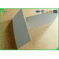 Smoothness surface grey board 300gsm to 1500gsm for hard box package Manufactures