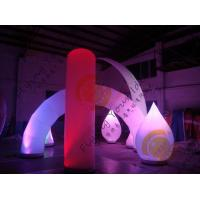 Advertising Inflatable Arch Balloon Led Lighting For Festival Decoration Manufactures